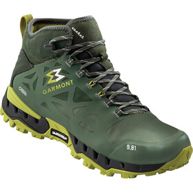 Garmont 9.81 N Air G 2.0 Mid GTX Shoes Men green/olivine